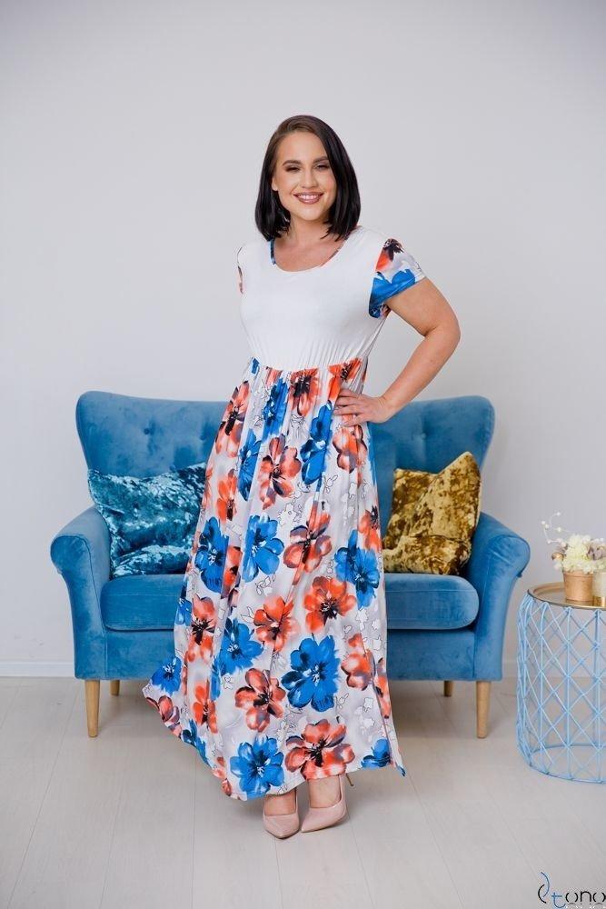 Sukienka PRESTINA Plus Size Wzór 3