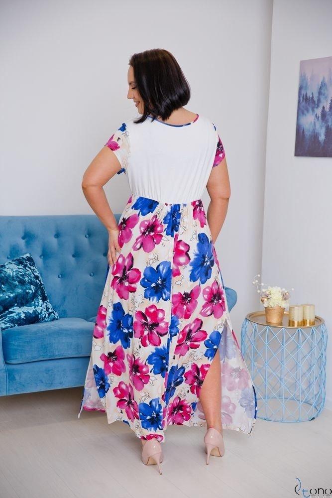 Sukienka PRESTINA Plus Size Wzór 4