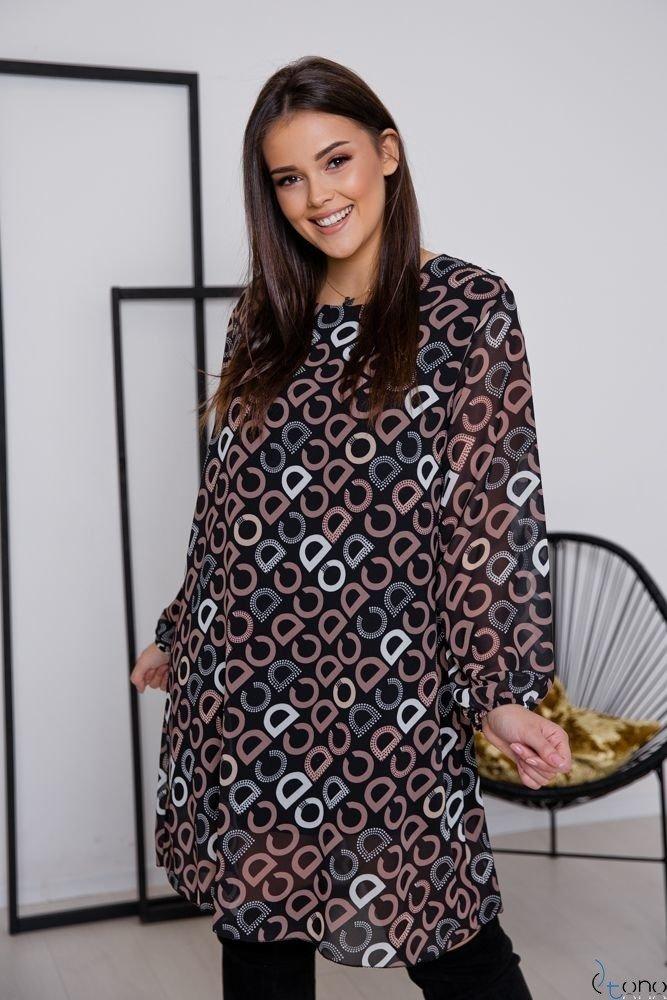 Sukienka SELLINA Plus Size Wzór 2