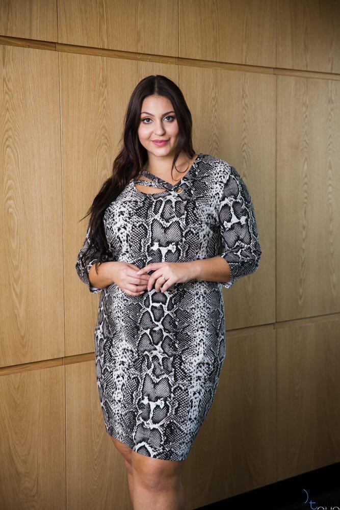 Sukienka SENTERA Plus Size