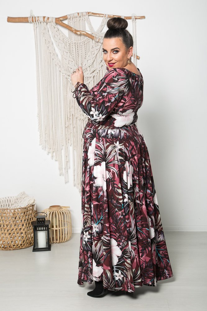 Sukienka VERNISE Plus Size Wzór 11