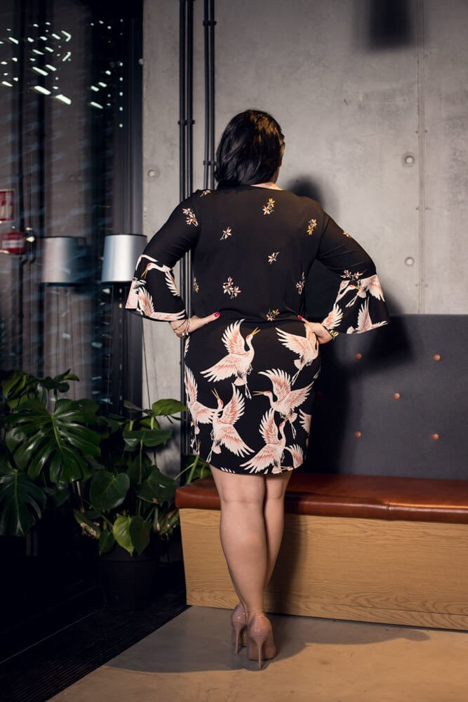 Sukienka damska KALOSA Plus Size
