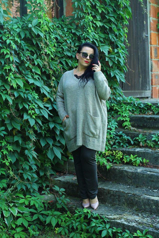 Sweter FARGO Plus Size wzór 2