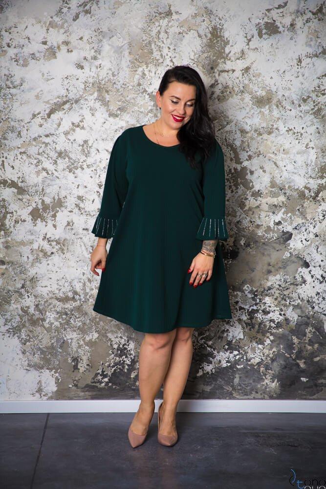 Zielona Sukienka CAMPARI Plus Size