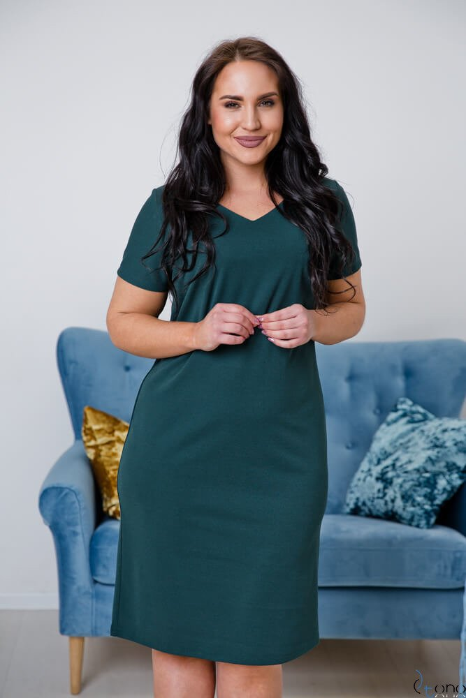 Zielona Sukienka MELIA Plus Size