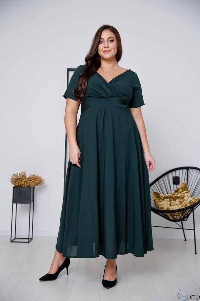 Zielona Sukienka MIRIAM Plus Size